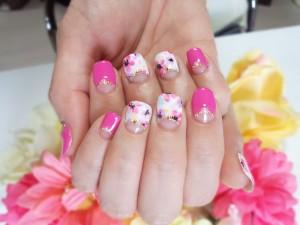 hand20150526pinkflower1