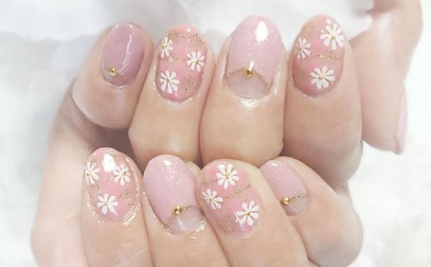 hand20160318pinkflower1